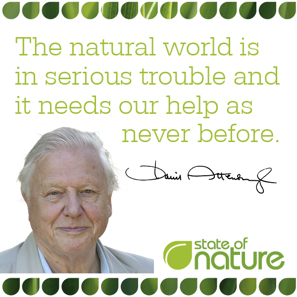 State of Nature Sir David Attenborough 2016