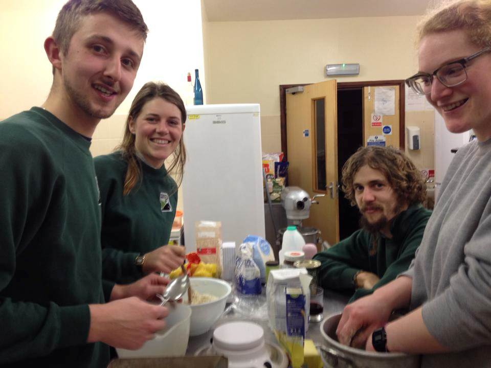 Wildlife Skills Trainees © WWT