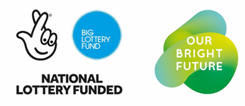 National Lottery Big Lottery and Our Bright Future logo