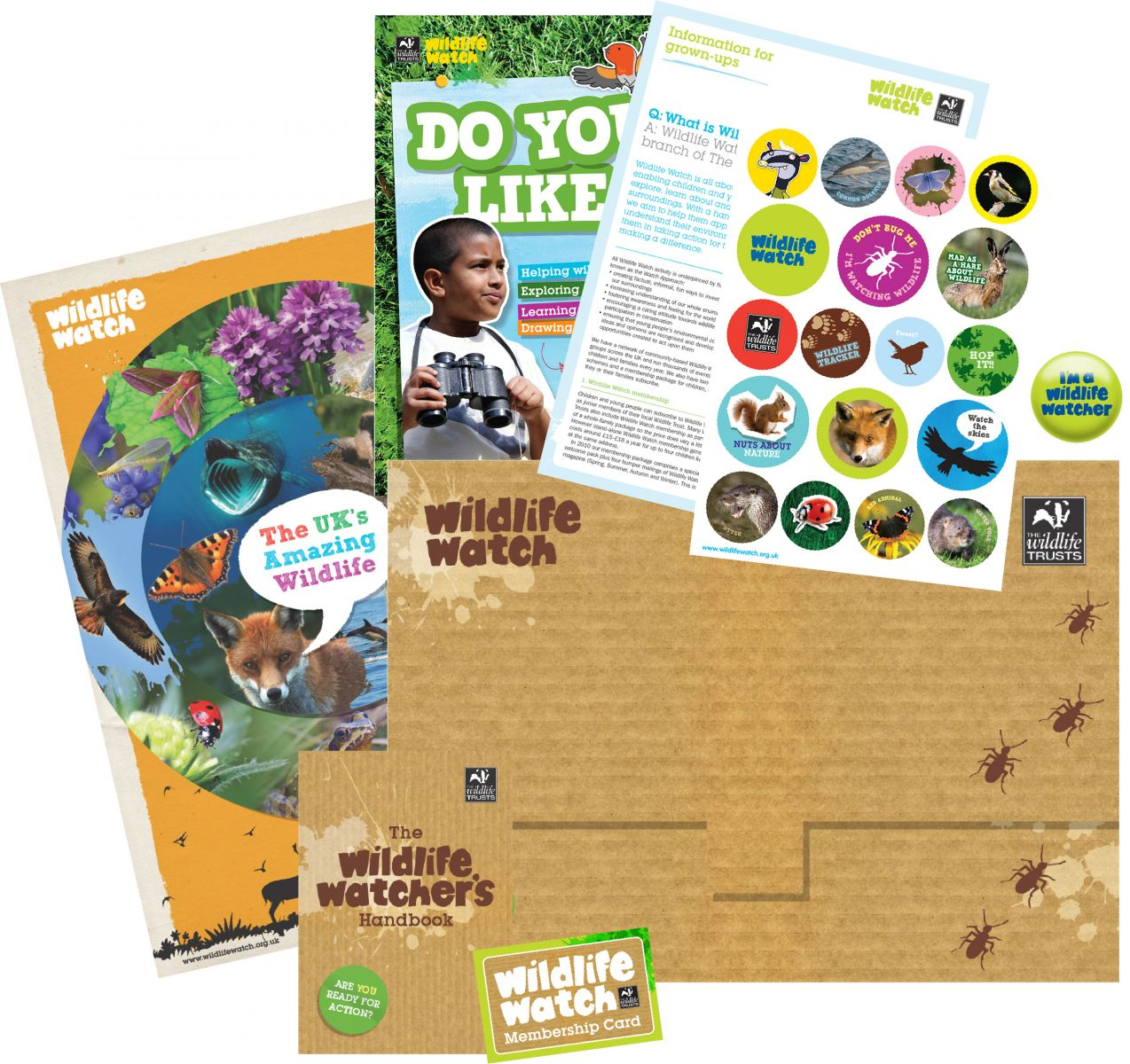 Watch Membership Pack © WWT