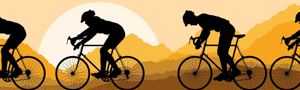 Cyclists 1 Copyright: kstudija  123RF Stock Photo