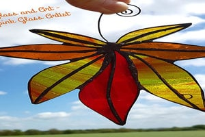 Stained Glass Autumn Leaves Workshop