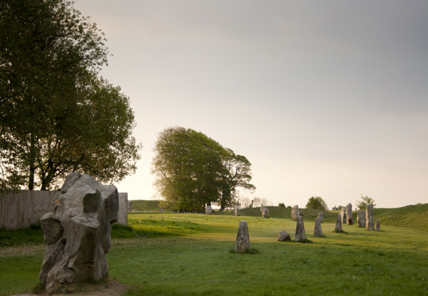 Katharine's race to the stones