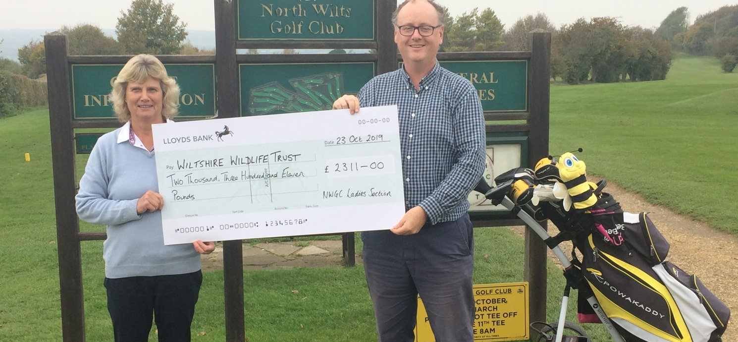 North Wilts Golf Club tees off for wildlife